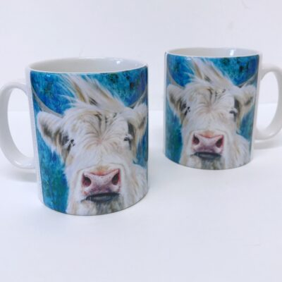 Highland Cow Patrick Mug Gift Pankhurst Cards and Gifts