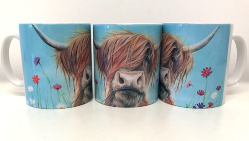 Highland Cow Rufus Mug Gift Pankhurst Cards and Gifts