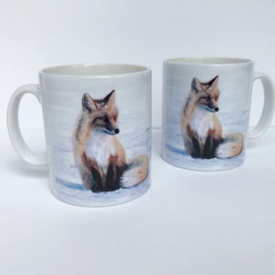 Red Fox Wistful Thinking Mug Gift Pankhurst Cards and Gifts