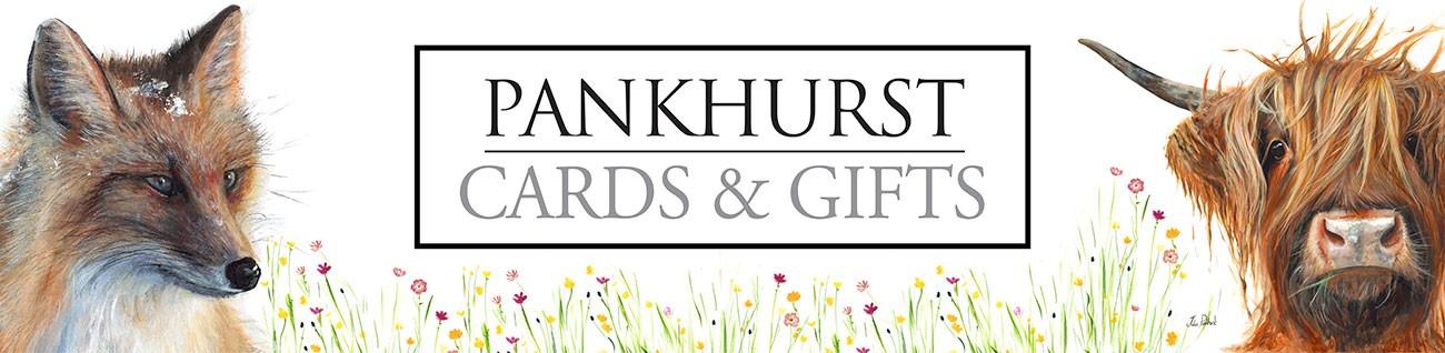 Pankhurst Gallery Banner Red Fox Highland Cow Logo