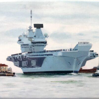 HMS Queen Elizabeth magnet gift