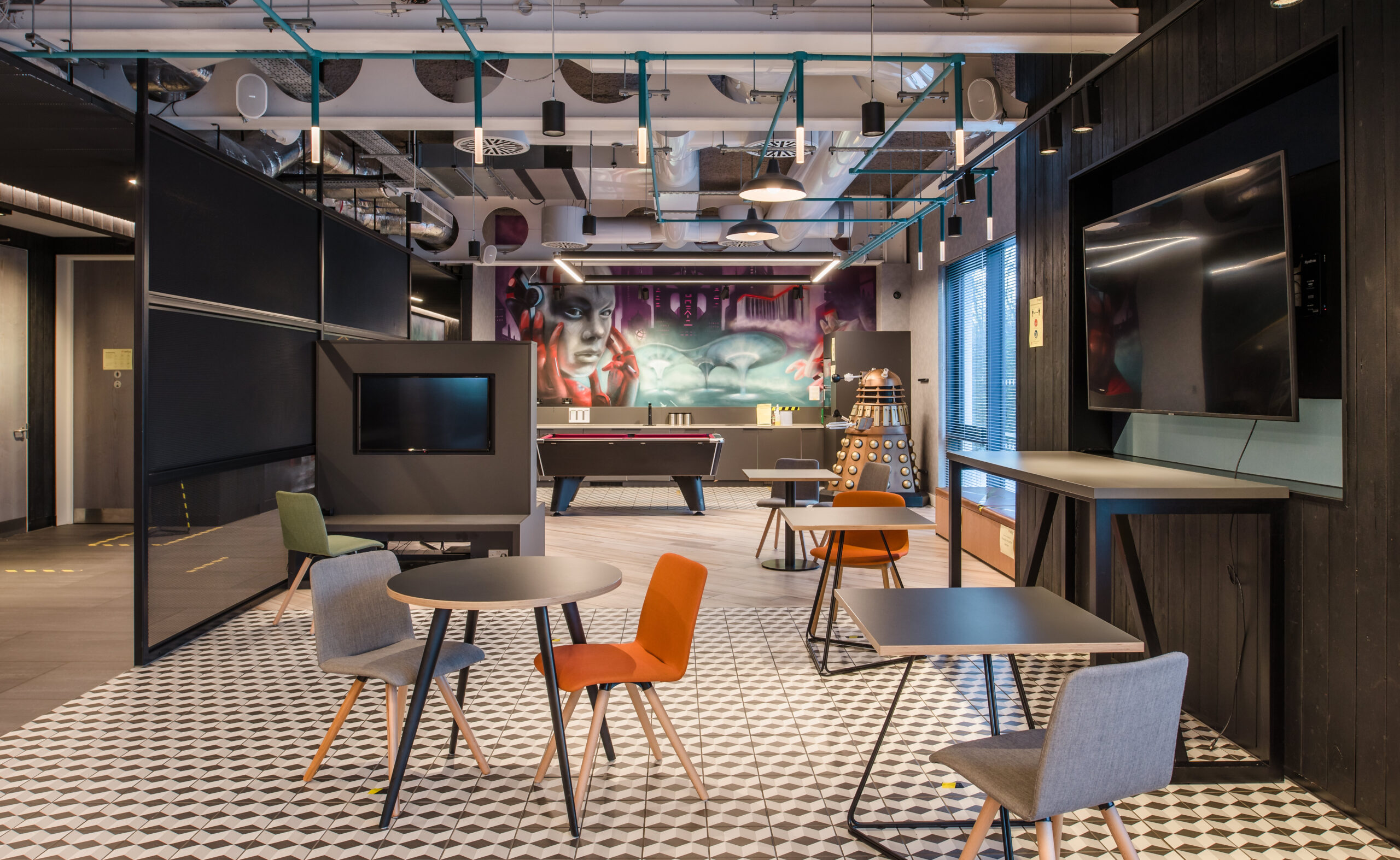 Commercial Property image after quoin's special lighting and post-production