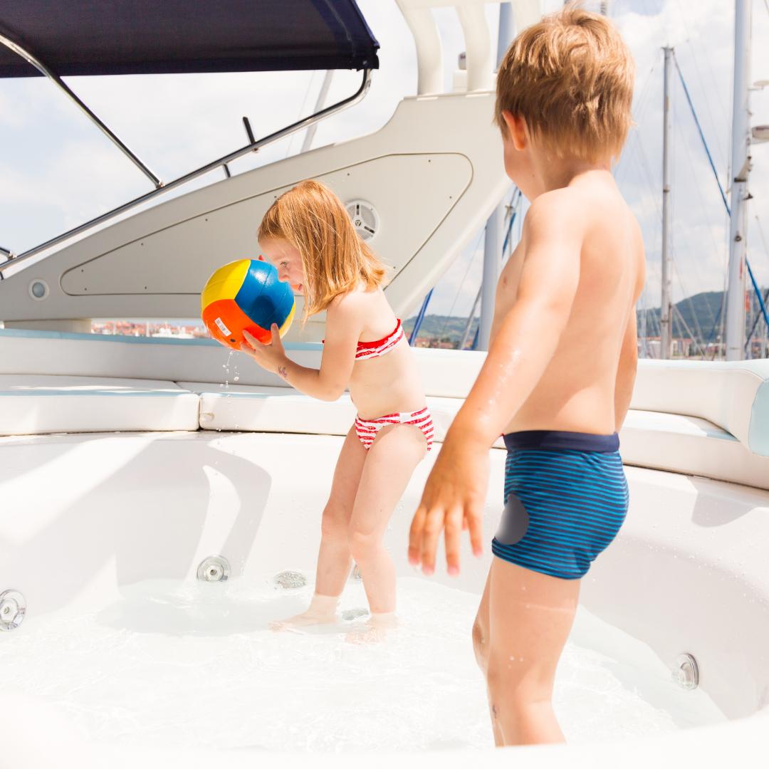 yacht rental DXB Kids Party
