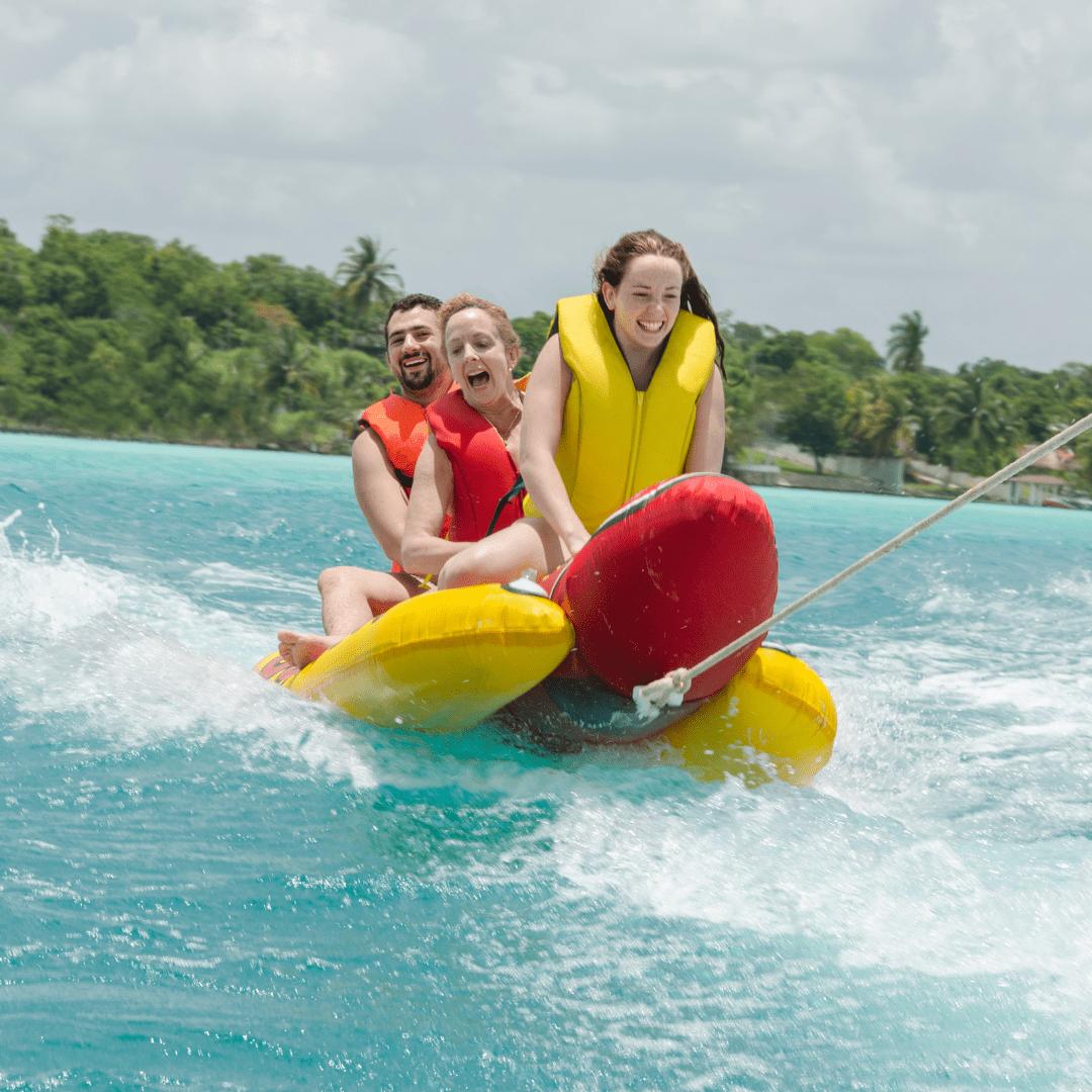 Banana Ride Water Activities - yachtrentaldxb.com