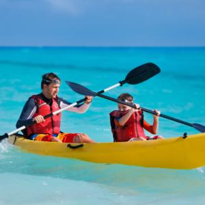 Kids Kayaking Water Activities - yachtrentaldxb.com