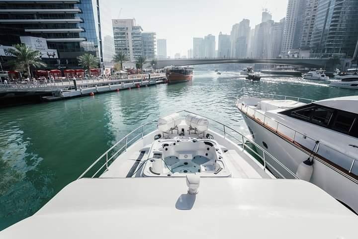 Venus 85 Yacht rental Dubai