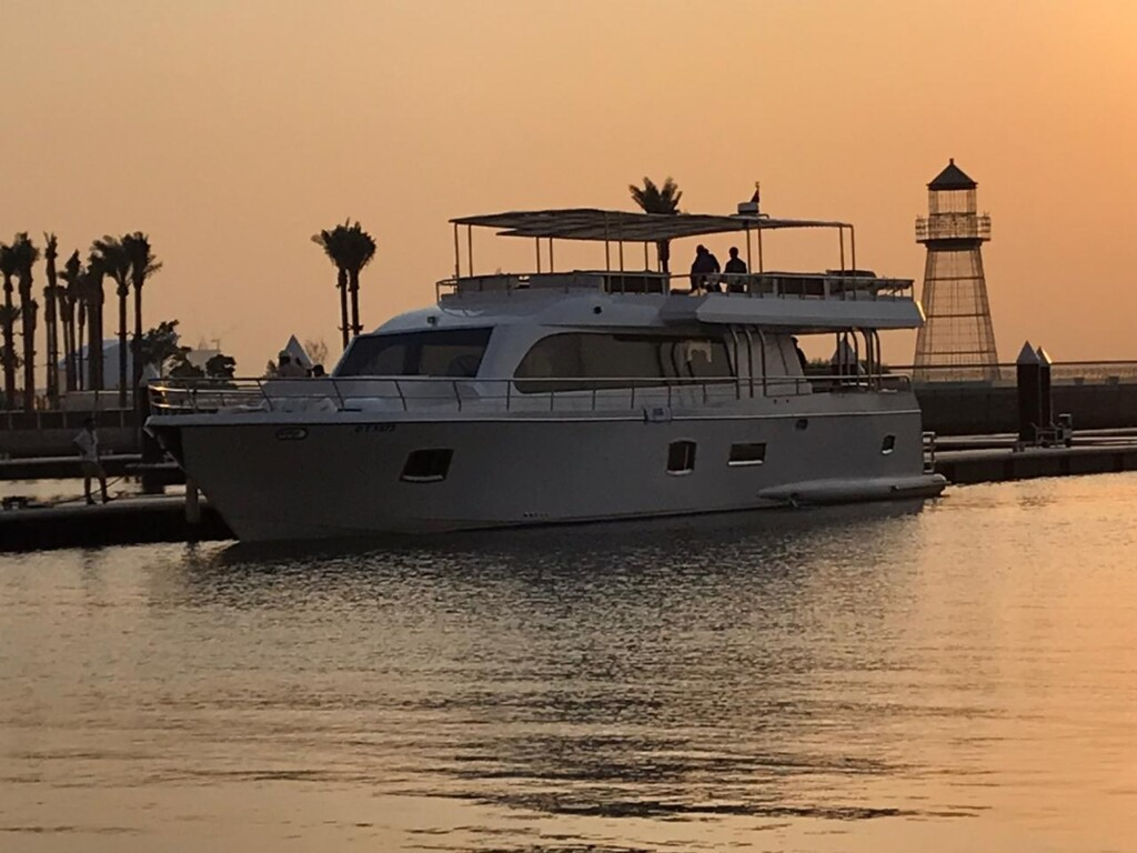Venus 85 Yachts rental Dubai