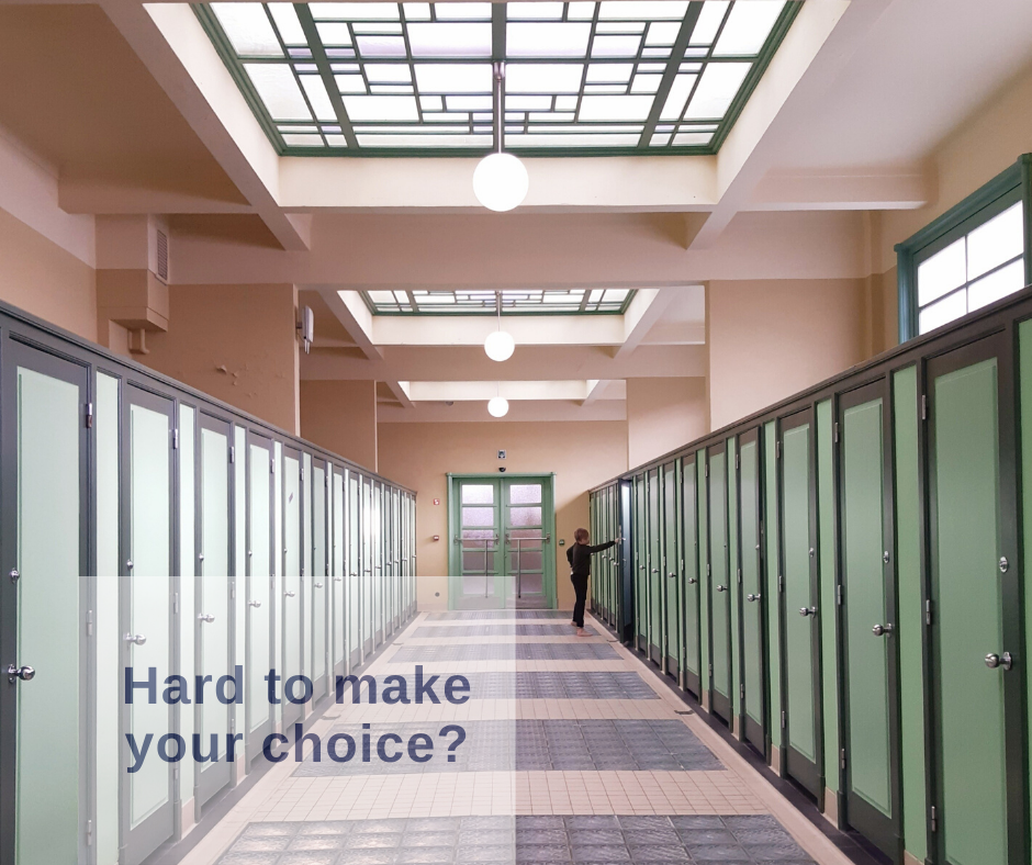 make choices - Marieke Genard