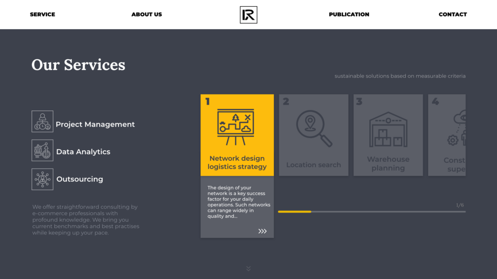RizonX service page