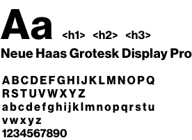 d8 h1 font