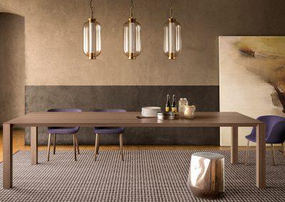 onepercent pianca malta dining room lighting chairs