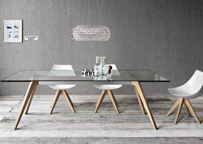 onepercent pianca malta delta dining room table