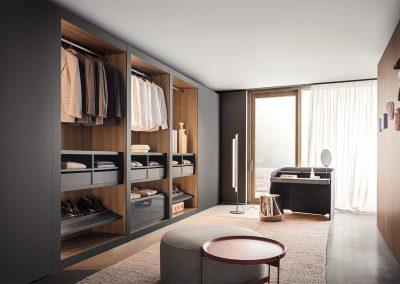 onepercent pianca sipario walk in closet bedroom furniture 2