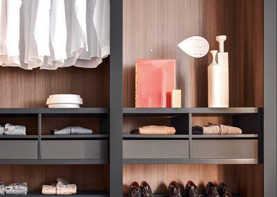 onepercent pianca sipario walk in closet bedroom furniture