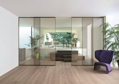 onepercent malta doors backlit glass partition