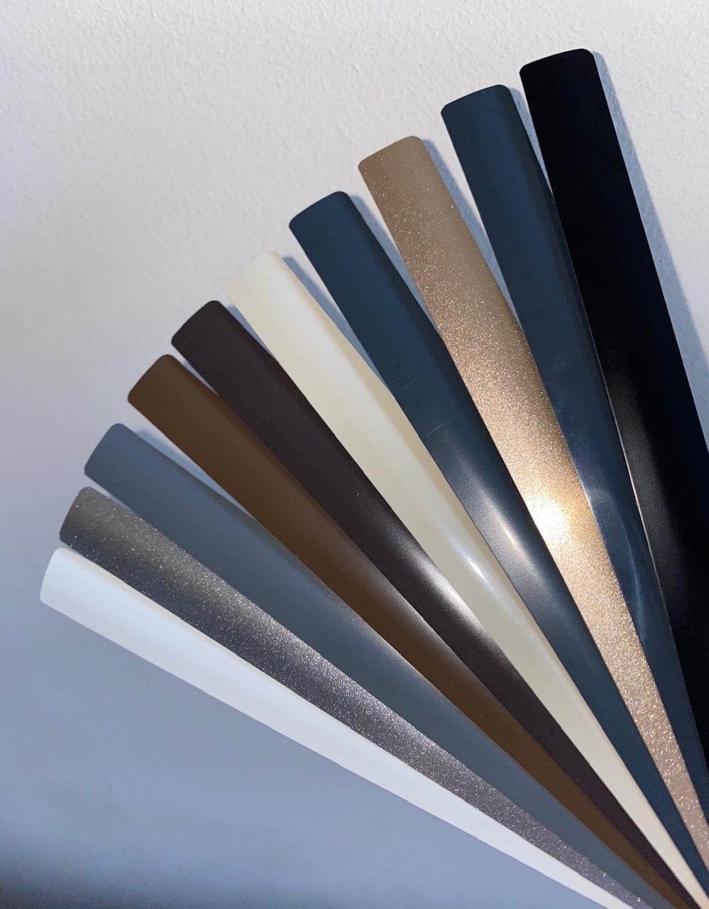 Integral blinds colour options