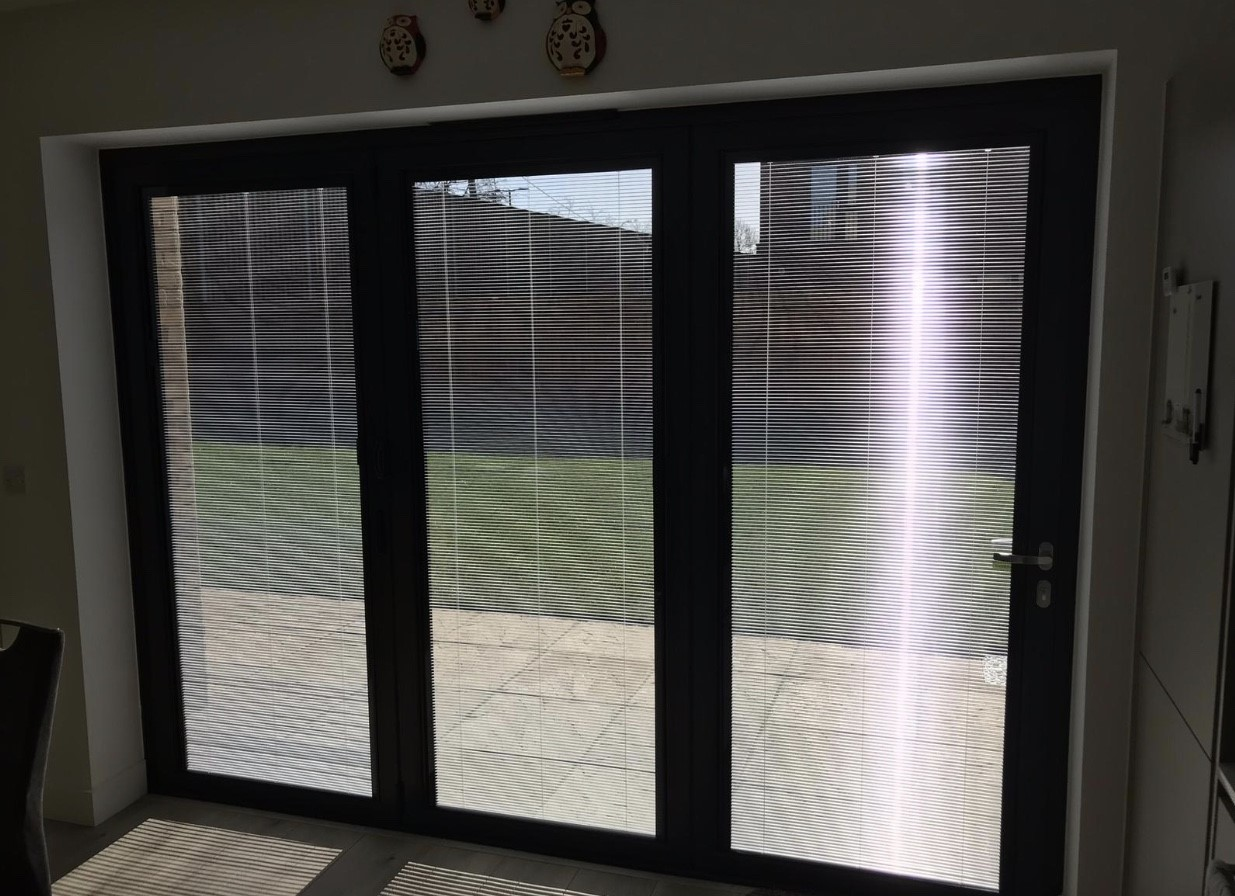 blinds inside windows