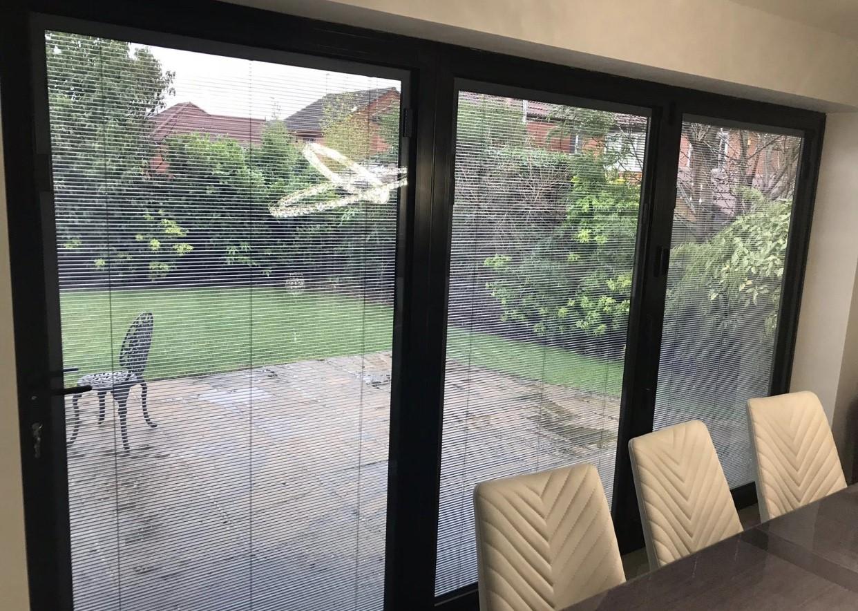 blinds inside windows