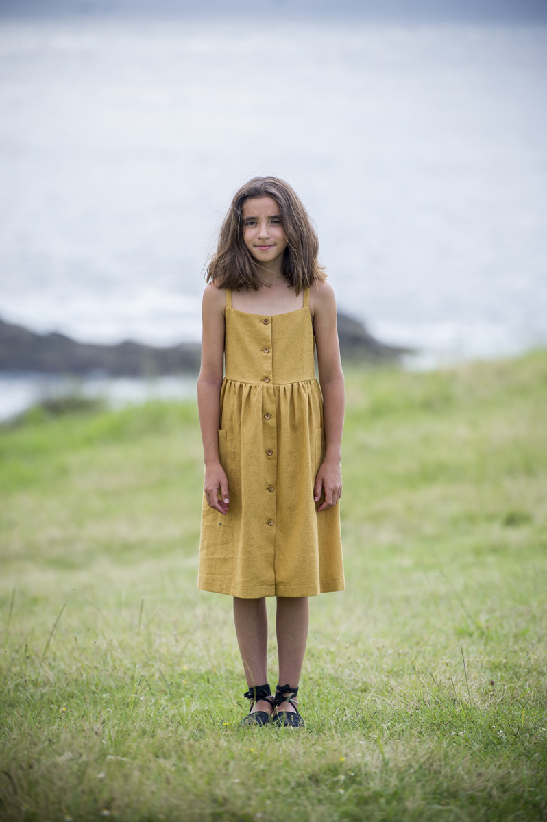 JAIZKIBEL dijon mustard  dress