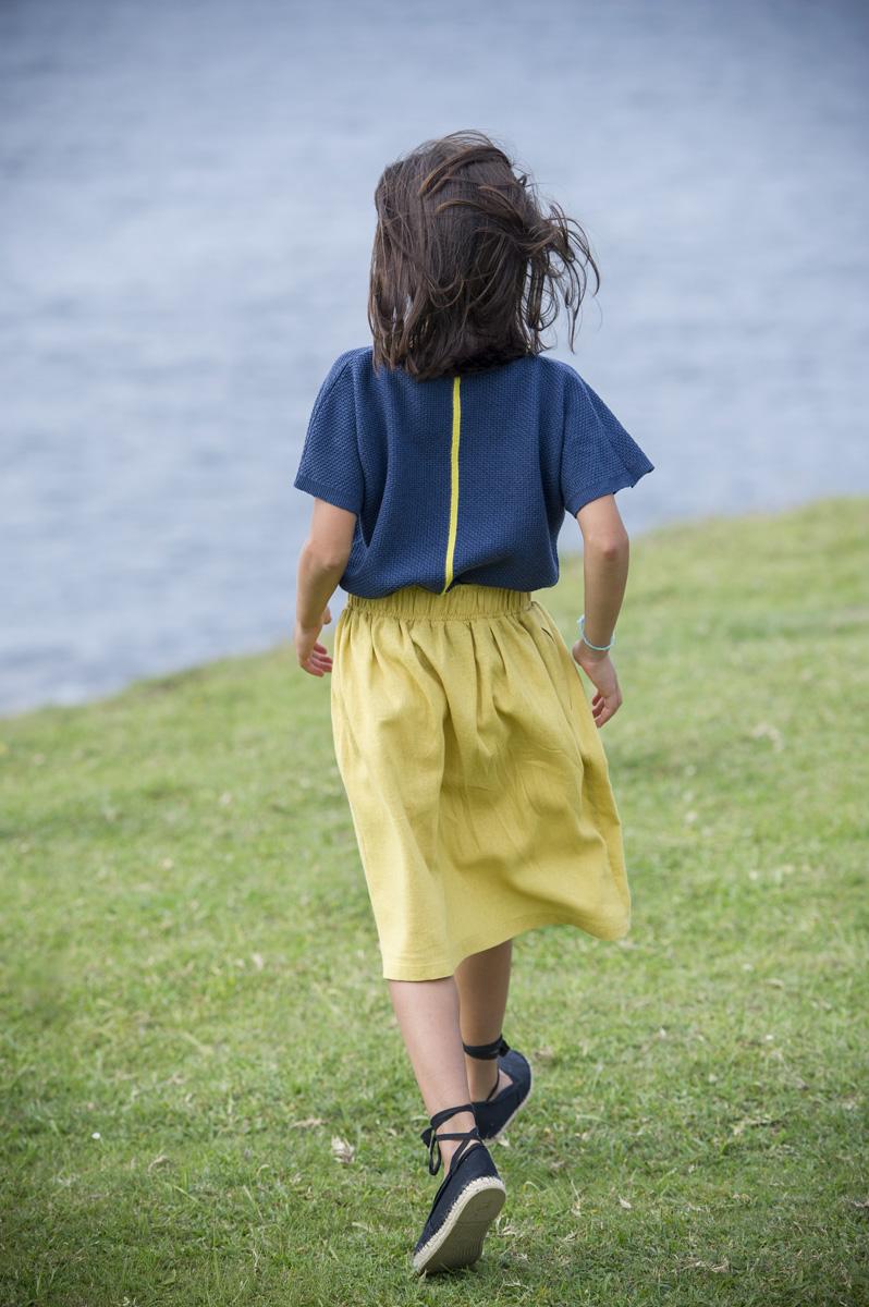 GALEA blue berry – yellow lemon  jumper