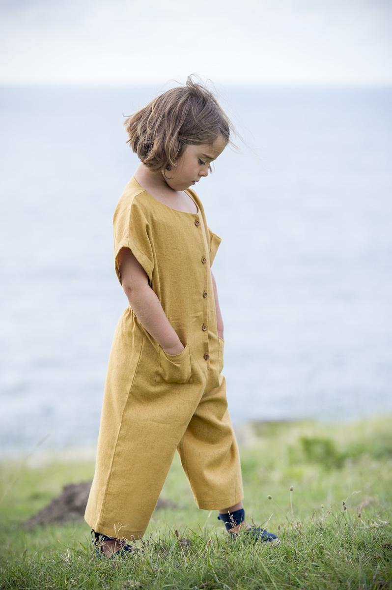 TALAIA dijon mustard jumpsuit