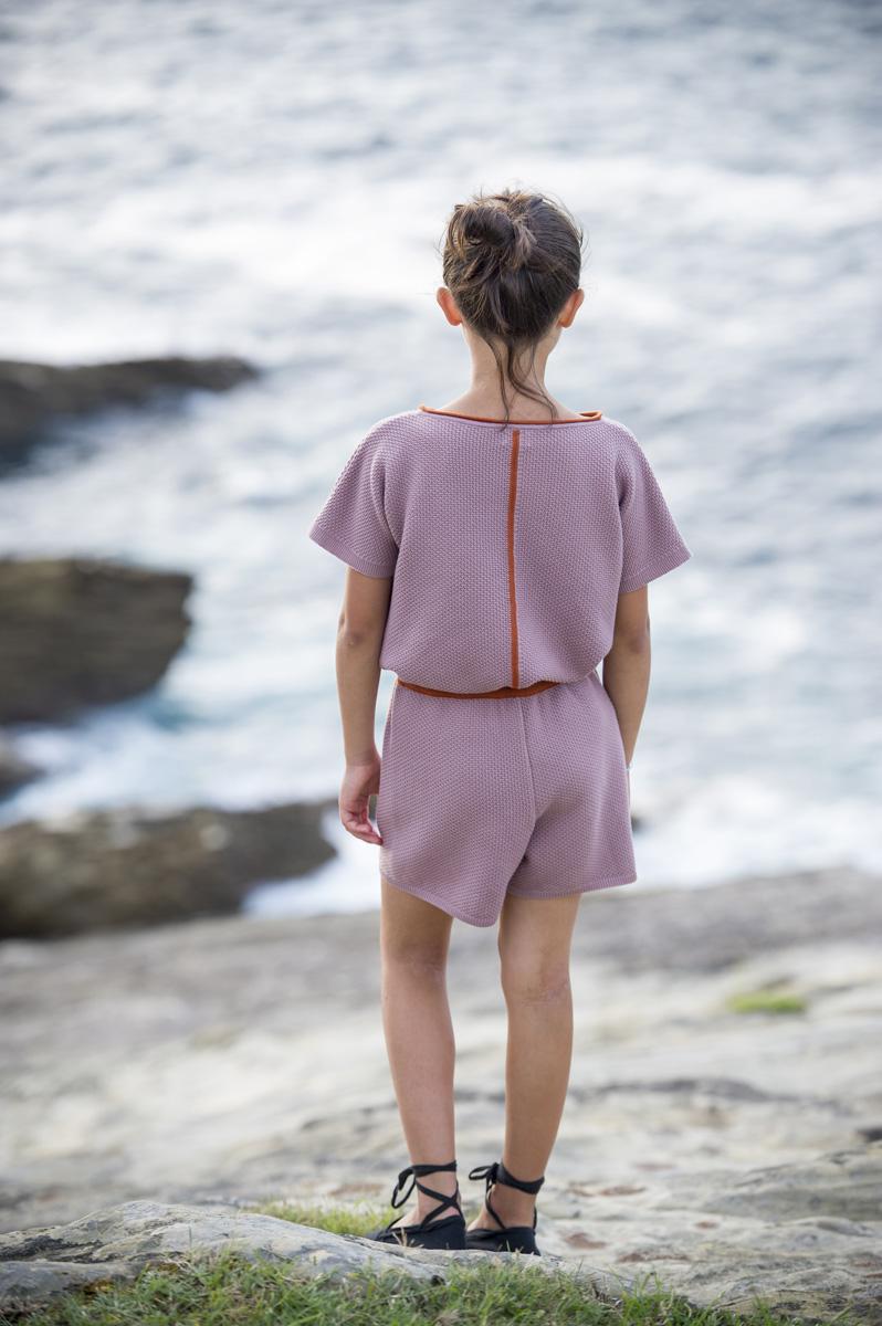 GALEA pink lavender – ginger bread jumper