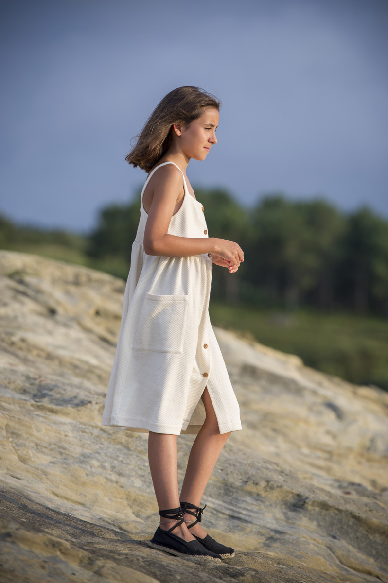 JAIZKIBEL buttermilk dress