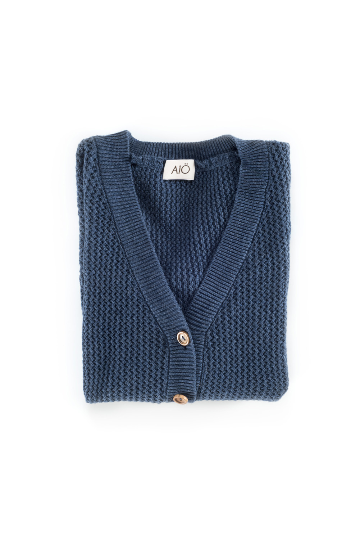 KOBARON blue berry cardigan
