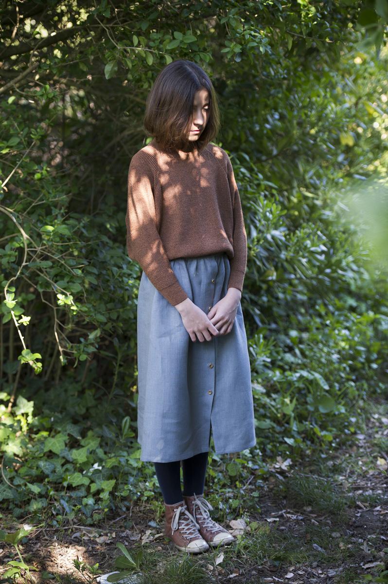 skirt hagina tiffany blue