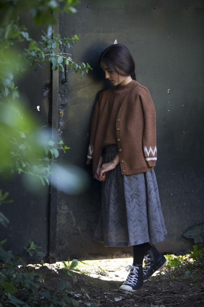 cardigan Astigar gingerbread