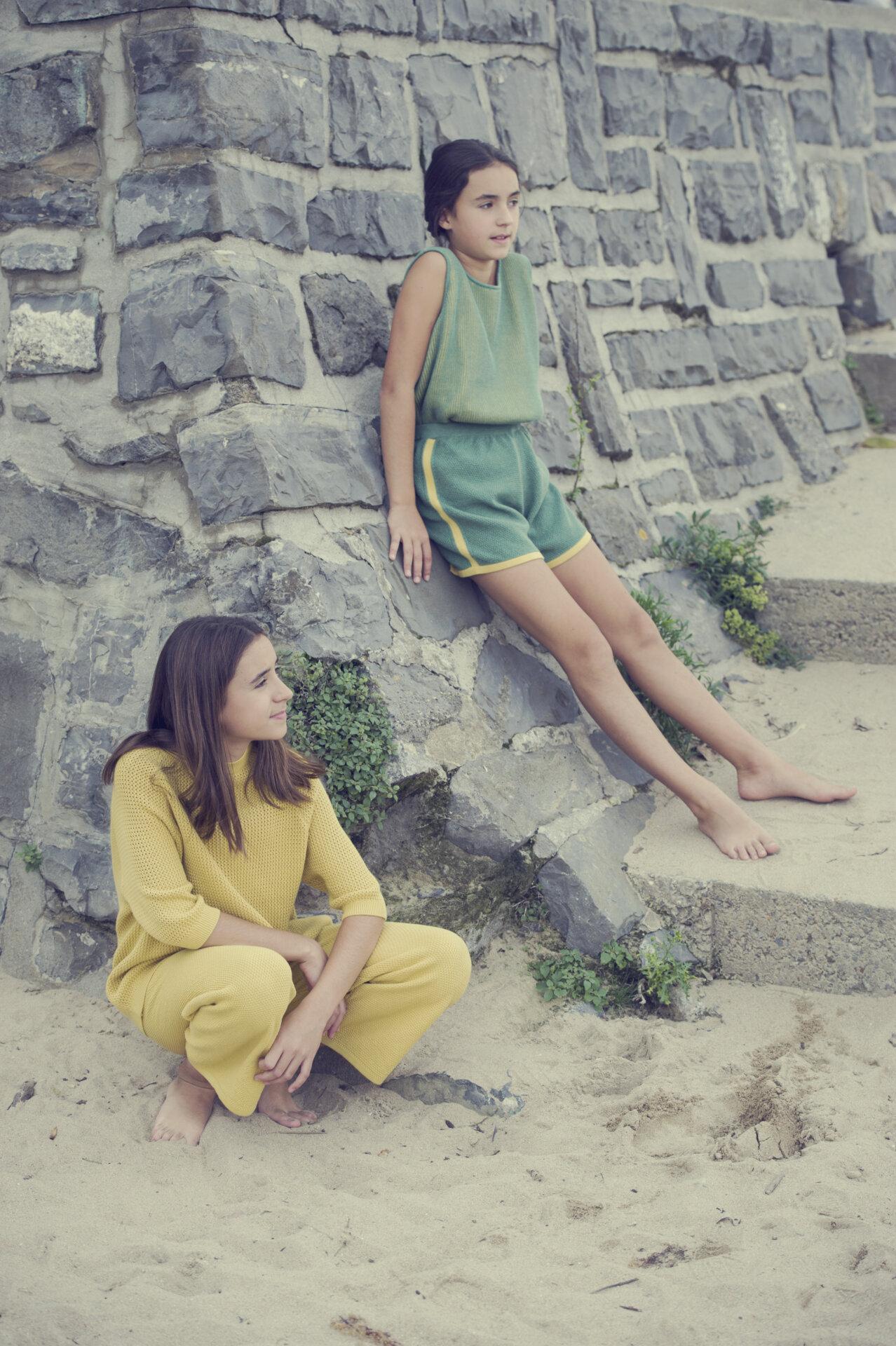 BIARRITZ emerald – lemon short