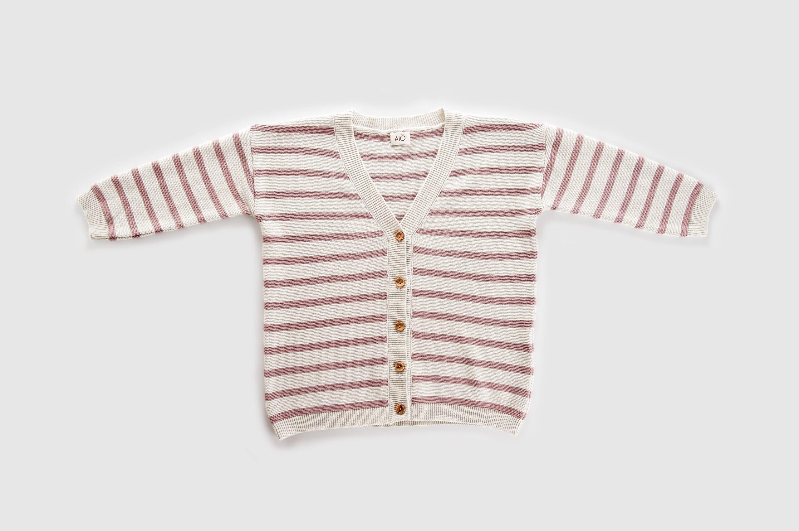BIARRITZ pink rice cardigan