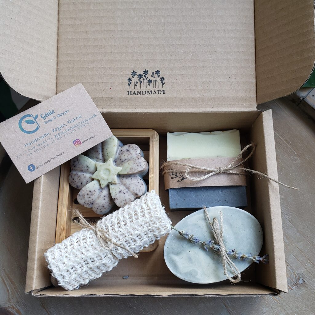 Handmade soaps discovery box