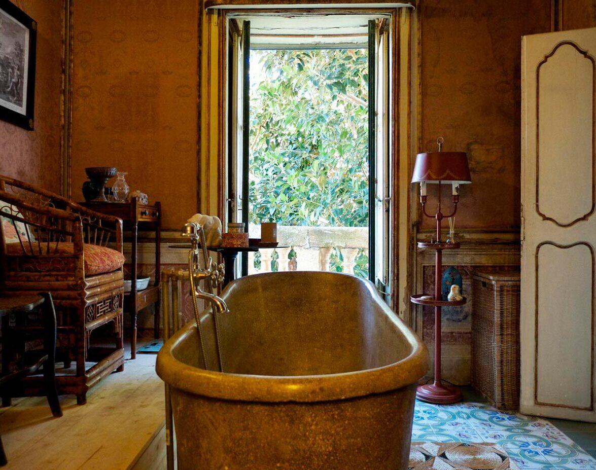 bathroom - villa valguarnera
