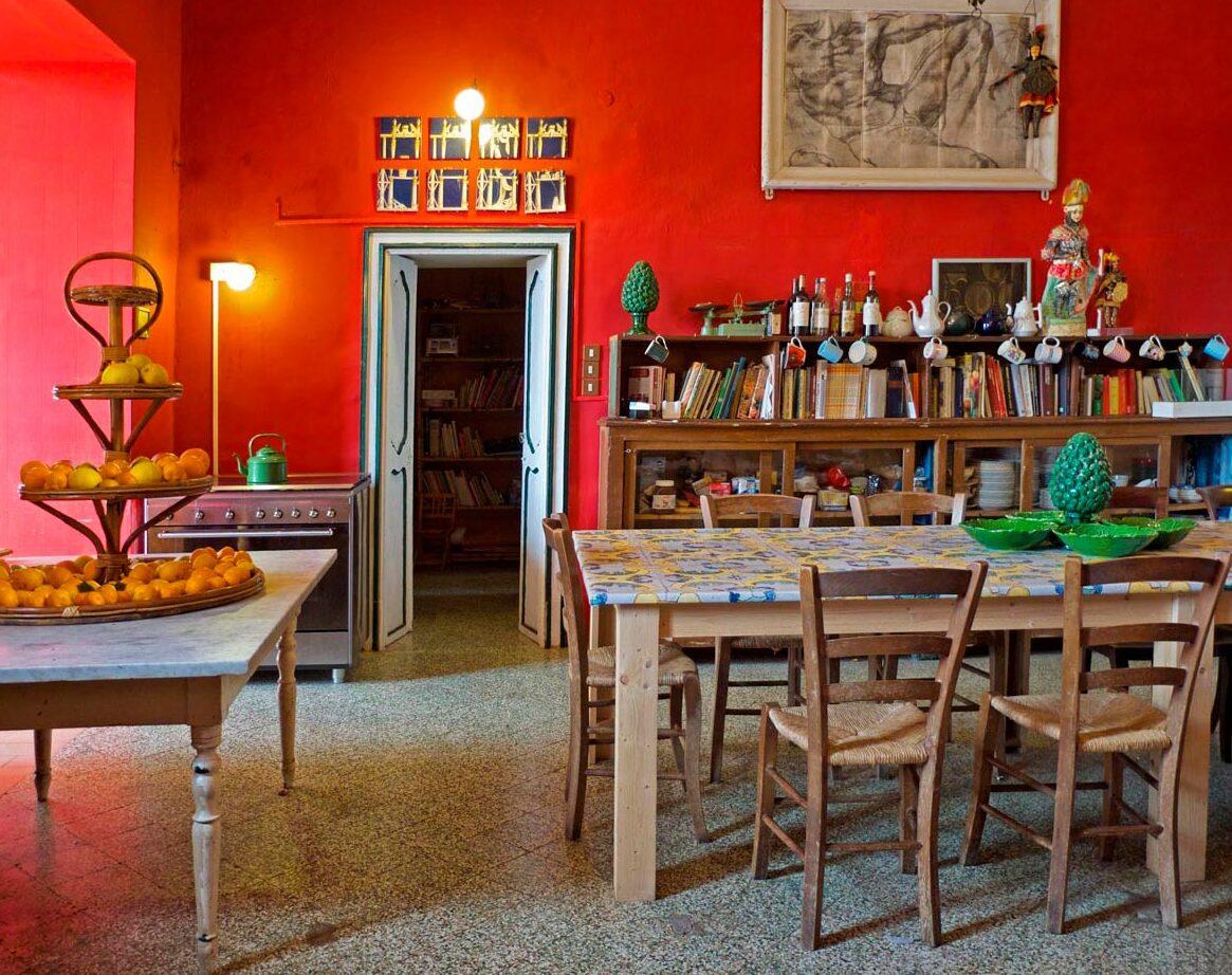 diner room - villa valguarnera