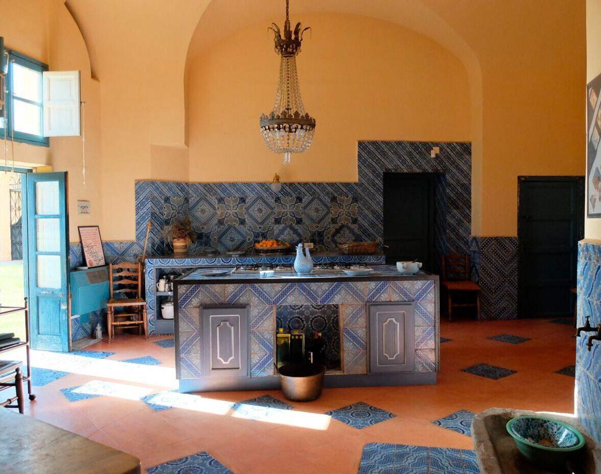 kitchen - villa valguarnera