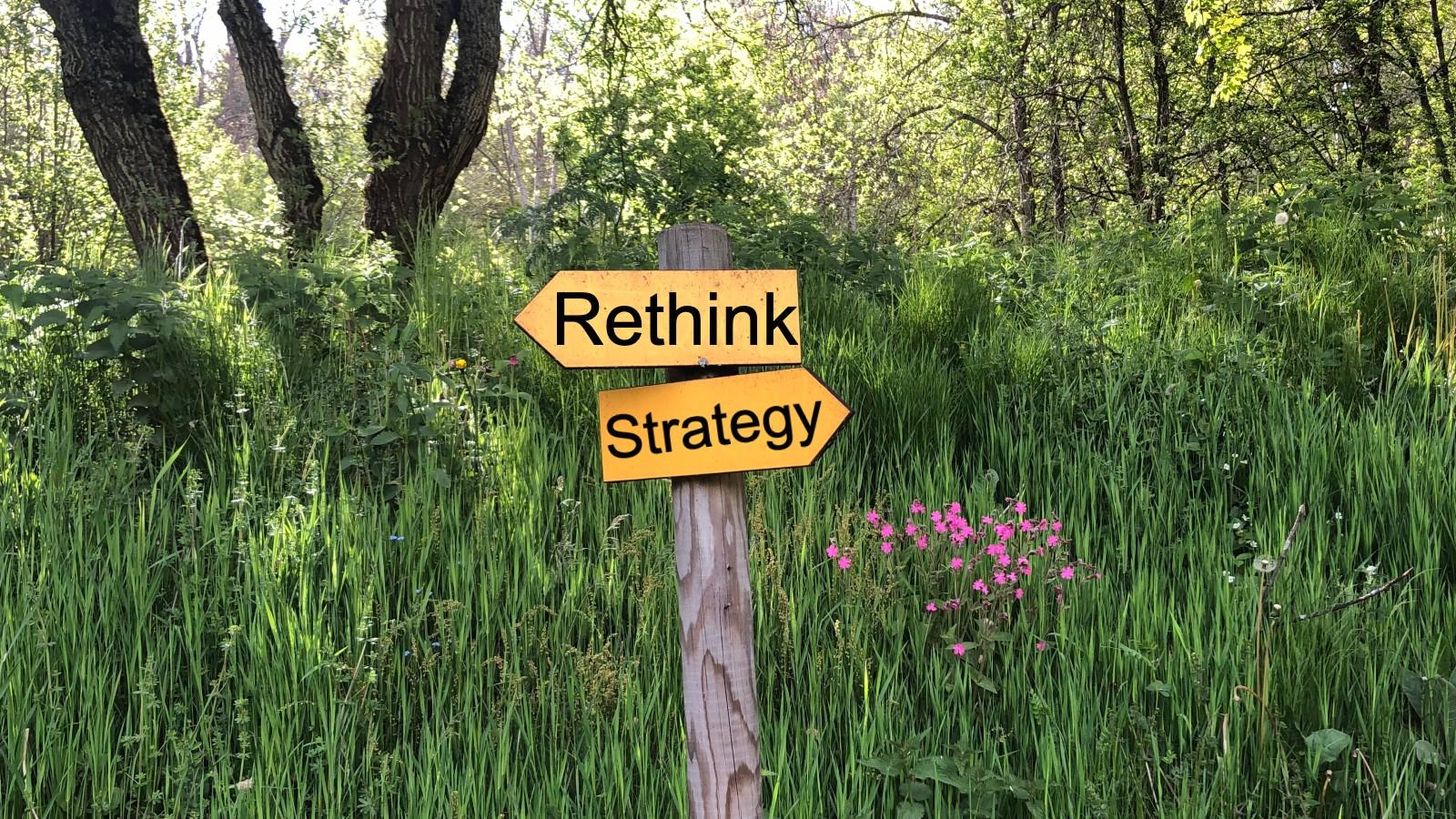 Rethink strategy - image   M Johnson
