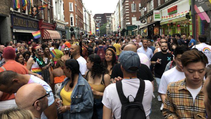 Pride London Soho ©Mark Johnson