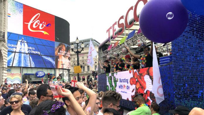 pride month - london pride 2019 ©Mark Johnson