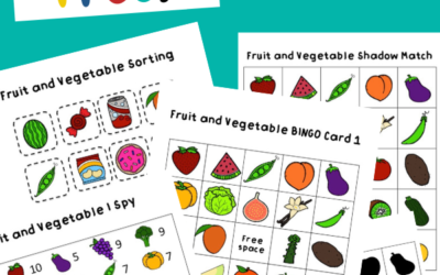 Fruit and Vegetable Activity Pack