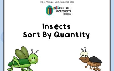 Insects Sort By Quantity