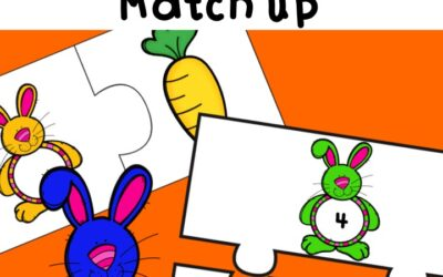 Bunny Carrot Match Up