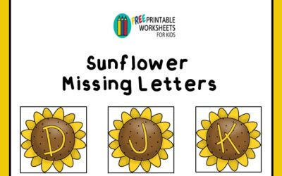 Summer Sunflower Alphabet