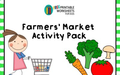 Farmers Market Activities Pack