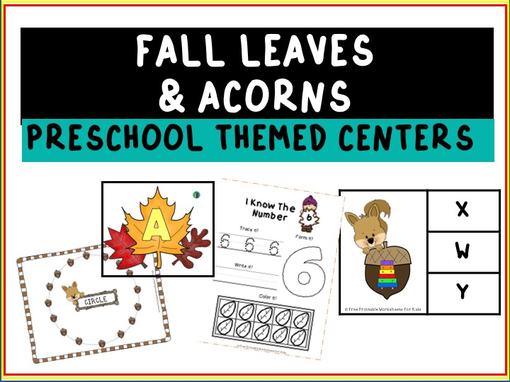 Count and Compare Acorns | Free Printable Worksheets For Kids | In this game, your child will count and compare the groups of acorns to help the squirrel chose the bigger one.