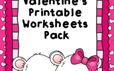 February Valentines Printable Worksheets Pack