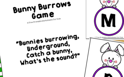 Bunny Burrows Game