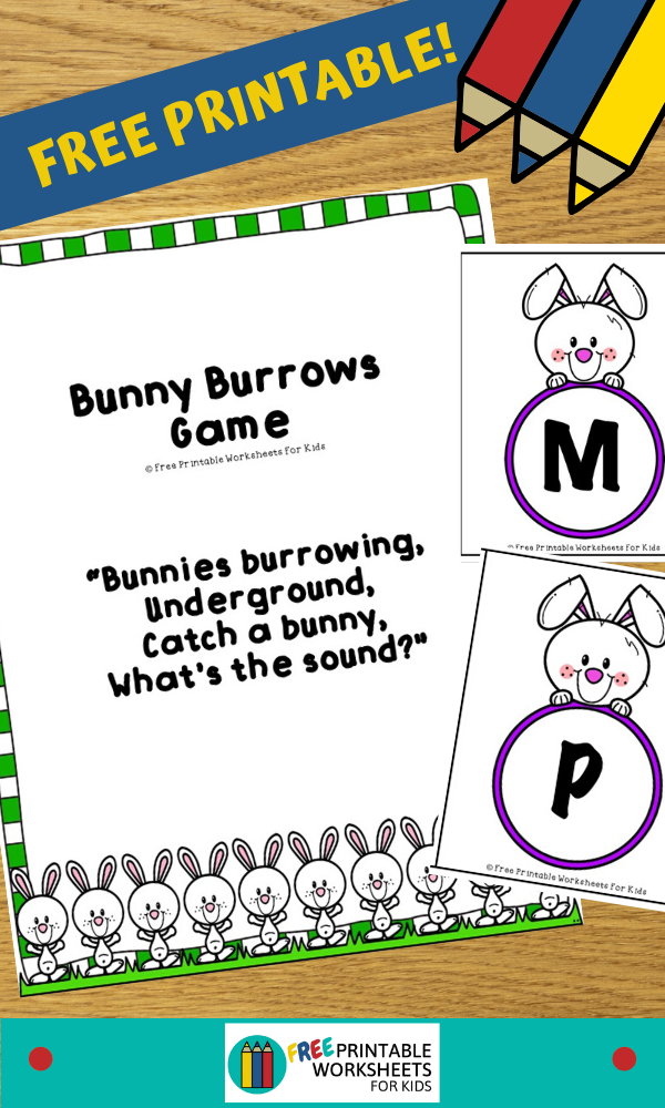 Bunny Burrows Game | Free Printable Worksheets For Kids | (*Disclaimer: Some links in this post are affiliate links. I may receive a small commission but this does not increase the price you pay. Thank you for supporting this blog!)