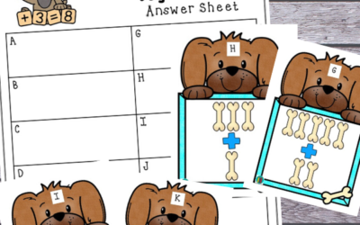 Dog Bone Math Game