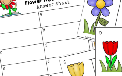 Flower Measurement Cards